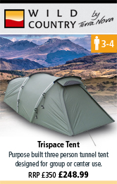Wild Country Trispace Tent - Green