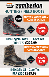 Zamberlan Lagorai NW GT Walking Boots and 1030 Sella GT (Gore-Tex) Walking Boot