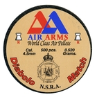 Air Arms Match .177 (4.49) Pellets x 500