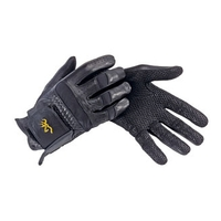 BrowningShop.com:TAC-PRO LEATHER SHOOTING GLOVE BLACK 2X TAC-PRO