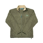 Deben Olive Green Fleece - Pheasant Logo