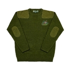 Deben Regular Round Neck Pullover - Pheasant Motif