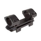 Hawke 1pc 25mm Droop Compensating Mount - Weaver