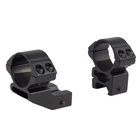 Hawke 2 Pce 1 Inch HIGH Weaver Mounts - Reach Forward of 1 Inch