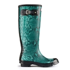Hunter Carnaby Snake Wellingtons (Women's)