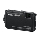 Nikon Coolpix AW100 16MP Camera - Black
