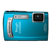 Olympus TG-320 Tough 3D 14MP Camera - Blue