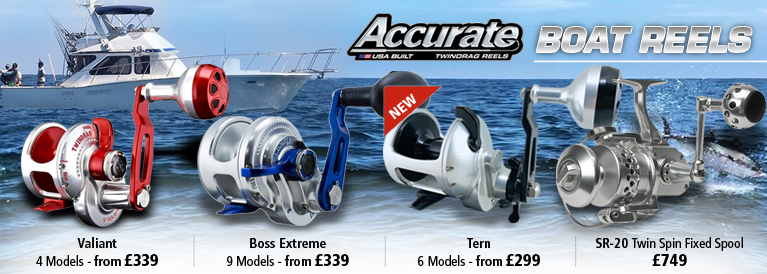 Accurate Boat Reels