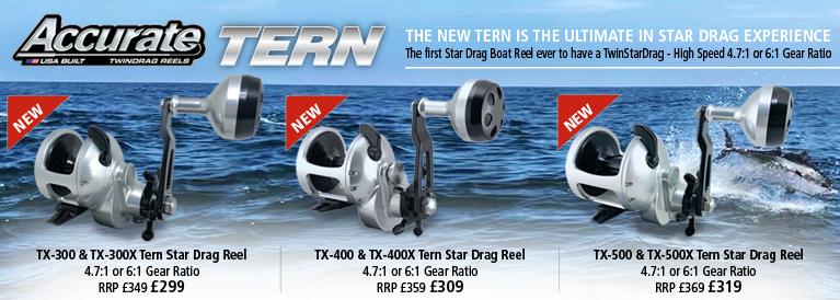 Accurate TX Tern Star Drag Reels