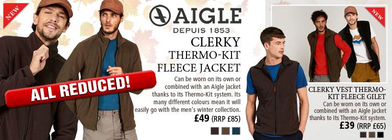Aigle Clerky Thermo-Kit Fleece Jacket
