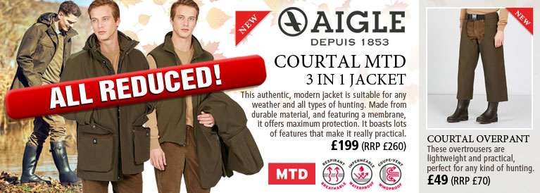 Aigle Courtal MTD 3 in 1 Jacket and Overtrousers