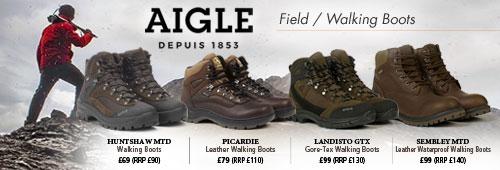 Aigle Field / Walking Boots