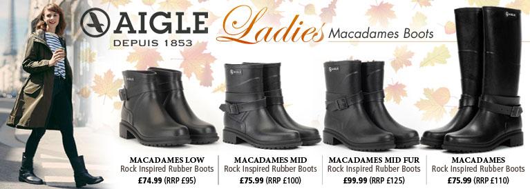 Aigle Macadames Rubber Boots