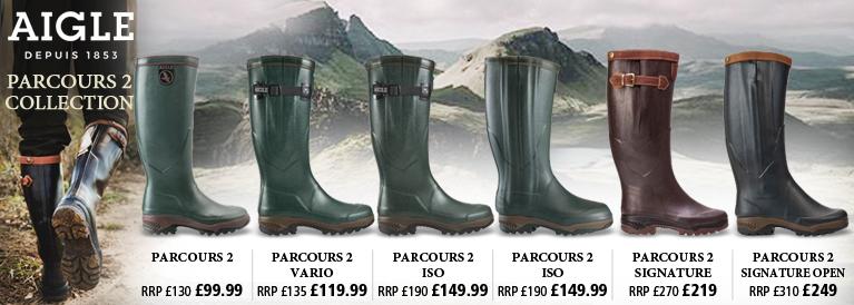 Aigle Parcours 2 Collection Wellington Boots