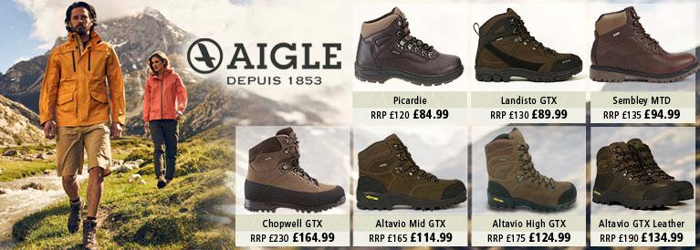 Aigle Walking Boots