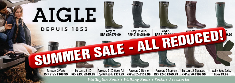 Aigle Wellington Boots