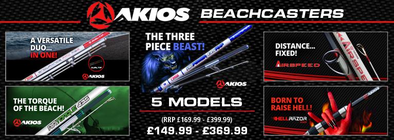 Akios Beachcaster Rods