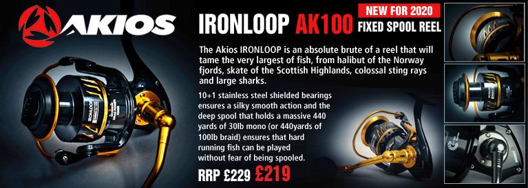 Akios Ironloop AK100 Fixed Spool Reel