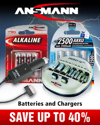 Ansmann Batteries and Chargers