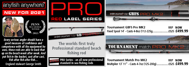 Anyfish Anywhere Pro Red Label Series