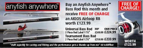 Anyfish Anywhere Red Label Rod Offer