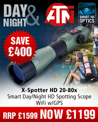 ATN X-Spotter HD 20-80x Day/Night Scope