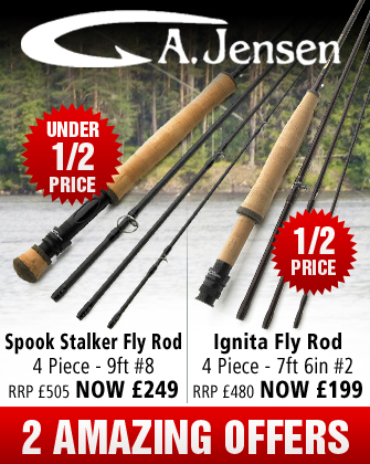 A Jensen Spook Stalker and Ignita Fly Rod