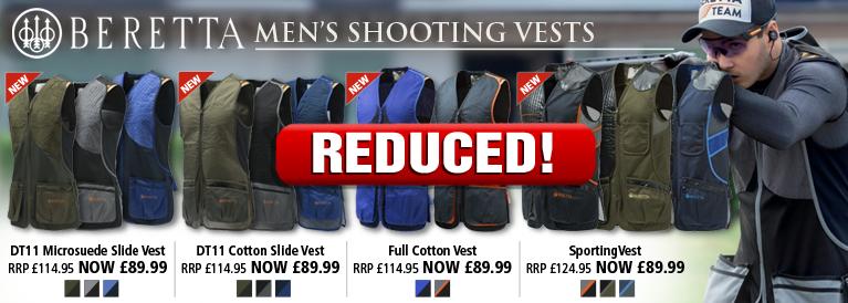 Beretta Mens Shooting Vests