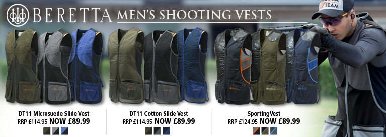 Beretta Mens Shooting Vests