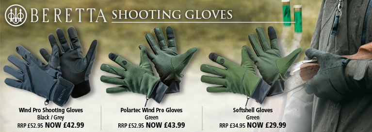 Beretta Shooting Gloves