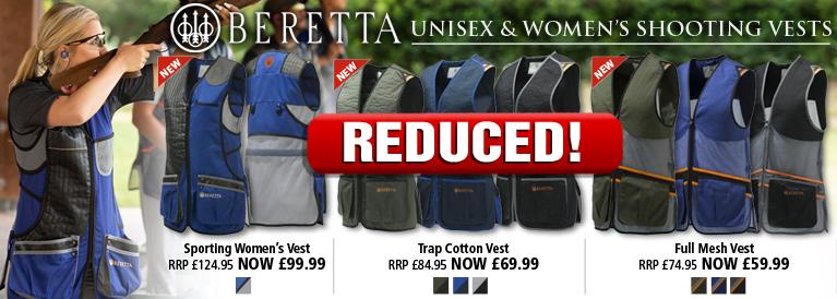 Beretta Unisex and Women's Shooting Vests