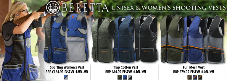 Beretta Unisex and Women's Shooting Vests