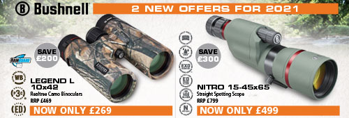 Bushnell 2 New Offers for 2021
