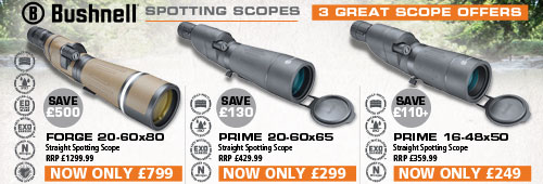 Bushnell 3 Great Scope Offers