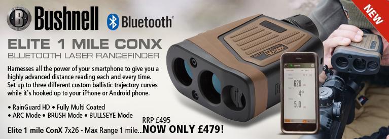 Bushnell Elite 1 Mile ConX Bluetooth Laser Rangefinder