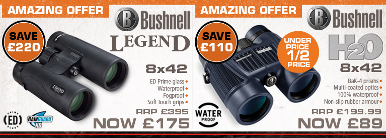 Bushnell Legens and H20 Amazing Offer