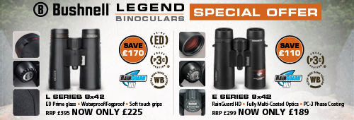 Bushnell Legend L 8x42 and Legend E 8x42 Binoculars