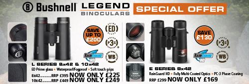 Bushnell Legend L 8x42 and Legend E 8x42 Binoculars