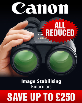 Canon Image Stabilising Binoculars