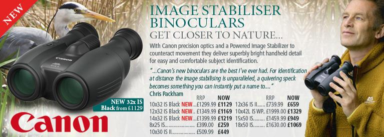 Canon IS Image Stabilising Binoculars