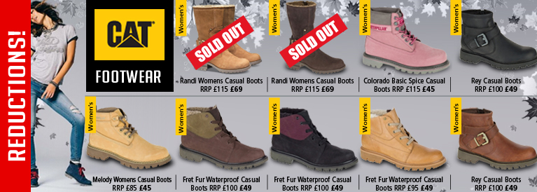 CAT Women's Autumn Winter Footwear