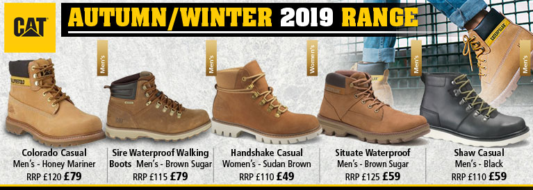 CAT Summer 2019 Footwear Range