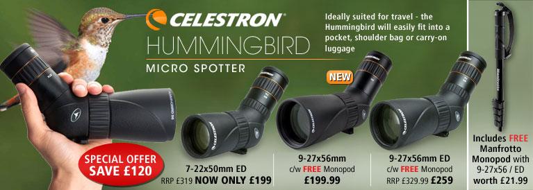 Celestron Hunningbird Micro Scopes