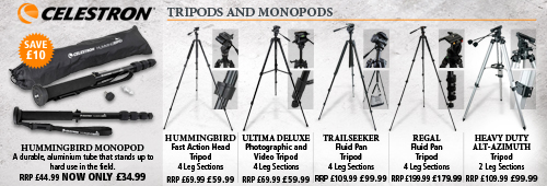 Celestron Tripods and Monopods