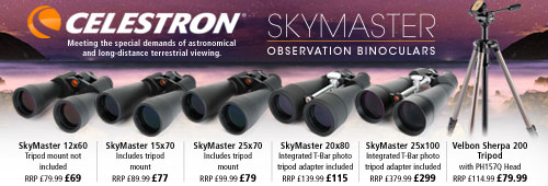 Celestron Skymaster Observation Binoculars