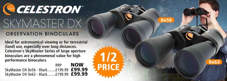 Celestron Skymaster DX Observation Binoculars Offer