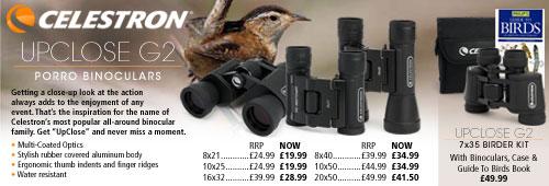 Celestron UpClose G2 Binoculars