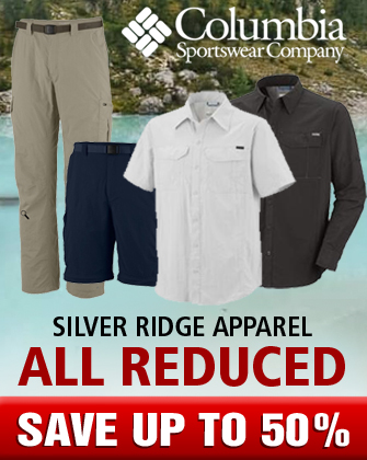 Columbia Silver Ridge Apparal All Reduced