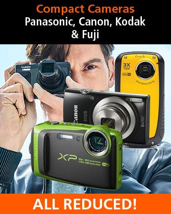 Compact Cameras Panasonic, Canon, Kodak and Fuji