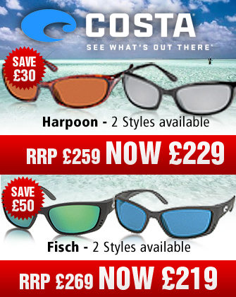 Costa Del Mar Harpoon and Fisch Sunglasses